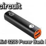 PowerMini 3200 Power Bank モバイルバッテリーレビュー