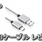 Qtuo Type C to USB 2.0ケーブル レビュー