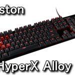 HyperX Alloy FPS ゲーミングキーボード レビュー