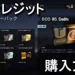 R6クレジットの購入方法
