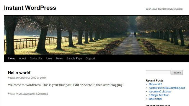 instant-wordpress-frontpage-640x360