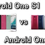 Android One S1とAndroid One S2の違い