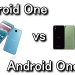 Android OneとAndroid One X1の違い