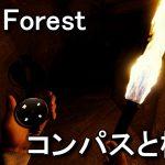 【The Forest】コンパスの入手方法と松明の作り方