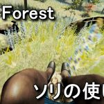【The Forest】カメの倒し方とソリの使い方