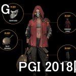 【PUBG】PGI 2018限定スキンの外観と入手方法