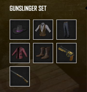 pubg-gunslinger-set-item-list