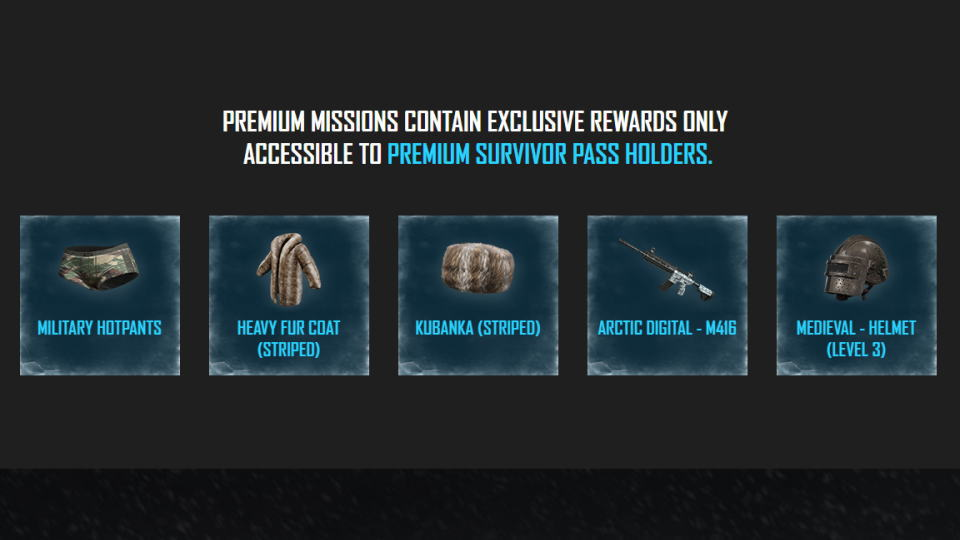 pubg-survivor-pass-vikendi-premium-rewards