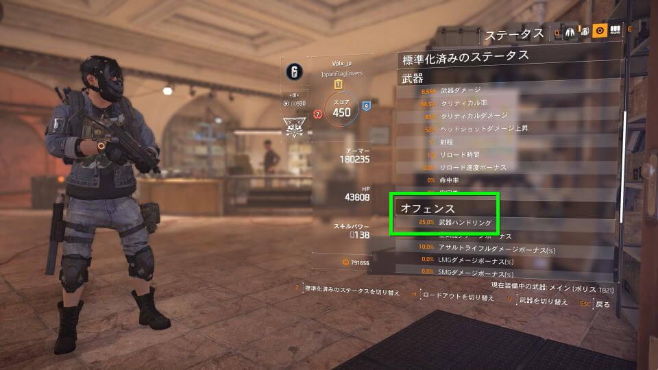 division-2-weapon-handling-status
