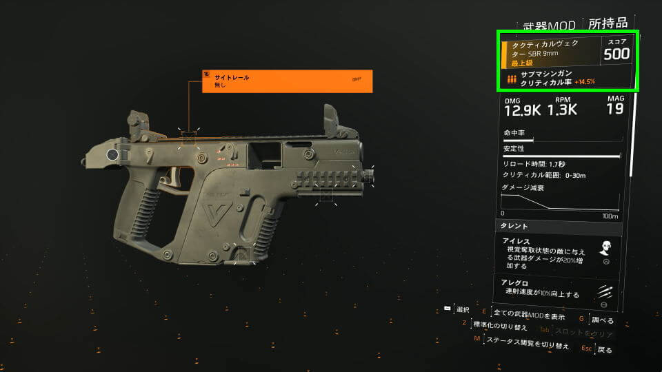 division-2-weapon-talent-strained-smg-1
