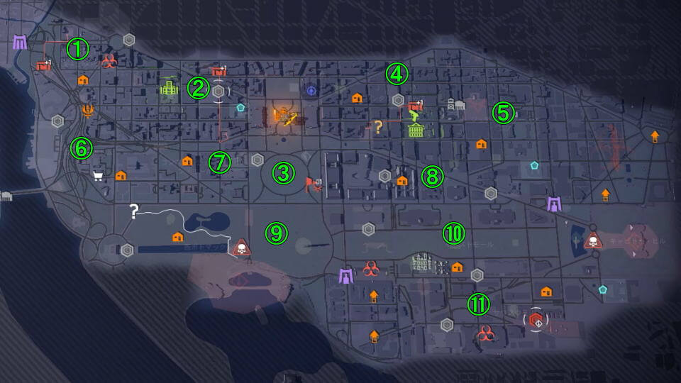division-2-field-research-gunner-map