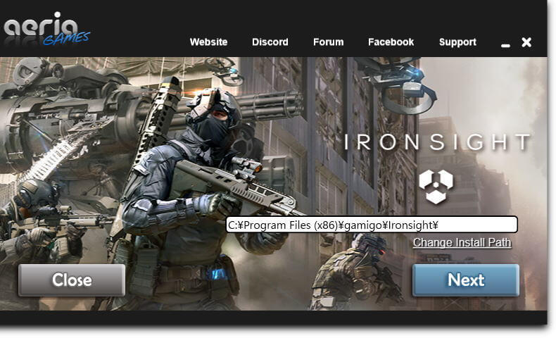 ironsight-install-aeria-games