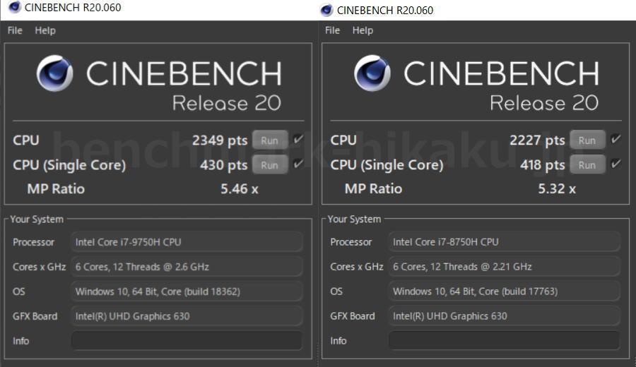 core-i7-9750h-vs-core-i7-8750h-cinebench