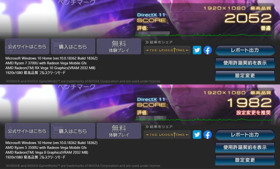 ryzen-7-3700u-vs-ryzen-5-3500u-ff14-benchmark