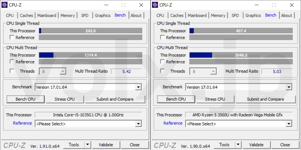 core-i5-1035g1-ryzen-5-3500u-hikaku-benchmark
