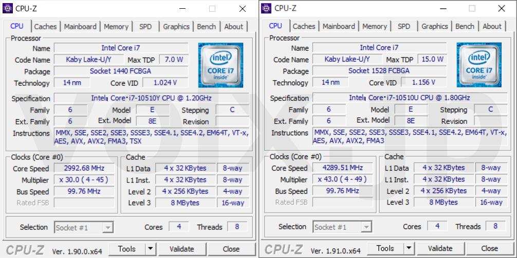 core-i7-10510y-core-i7-10510u-cpu-z-info