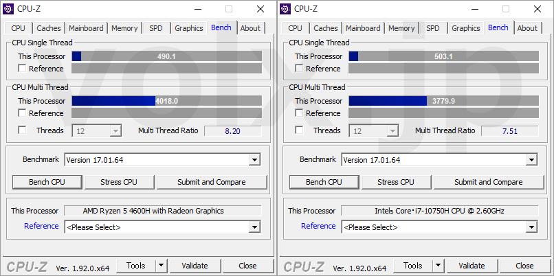 ryzen-5-4600h-core-i7-10750h-cpu-z-benchmark