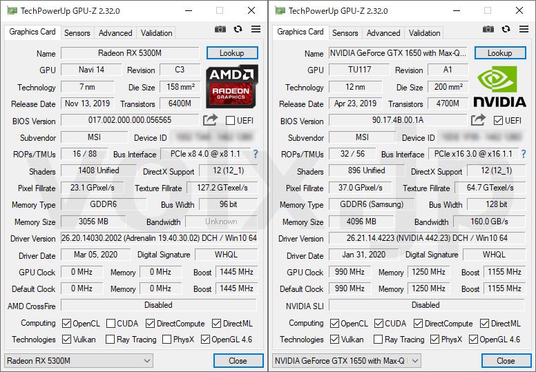 ryzen-5-4600h-core-i7-10750h-gpu-z