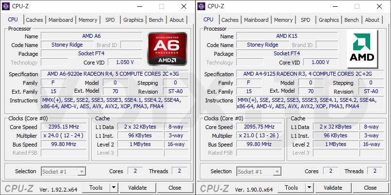 a6-9220e-vs-a4-9125-cpu-z-info