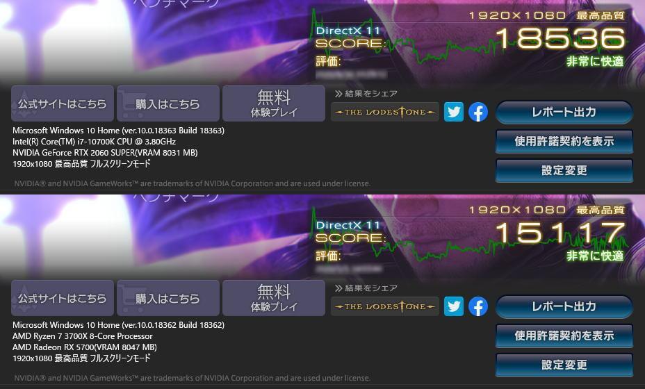 core-i7-10700k-ryzen-7-3700x-ff14-benchmark