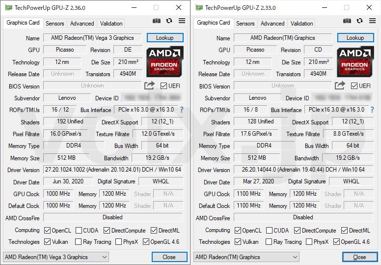 athlon-silver-3050e-athlon-silver-3050u-gpu-z
