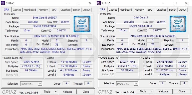 core-i5-1035g1-core-i3-1005g1-cpu-z-info