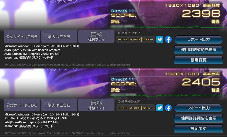 ryzen-5-4500u-core-i5-1135g7-hikaku-ff14-benchmark