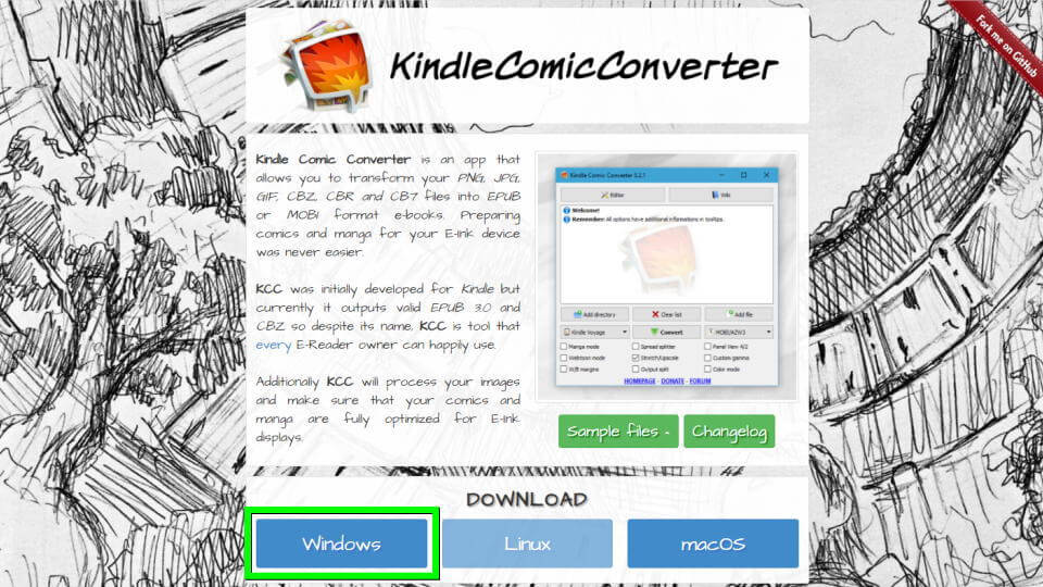 kindle-comic-converter-download