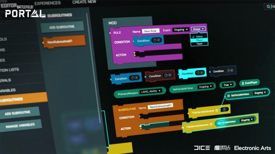 bf2042-battlefield-portal-logic-editor