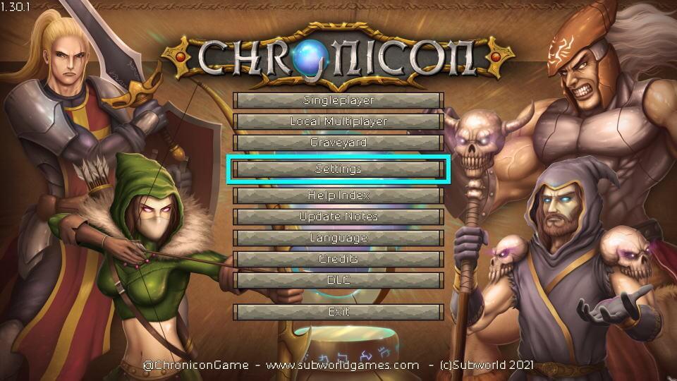 chronicon-keyboard-setting